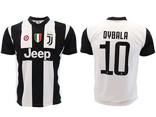 Camiseta de Fútbol Paulo Dybala 10 Juventus Home Temporada 2018-2019  Replica Oficial con Licencia d061937e3f8