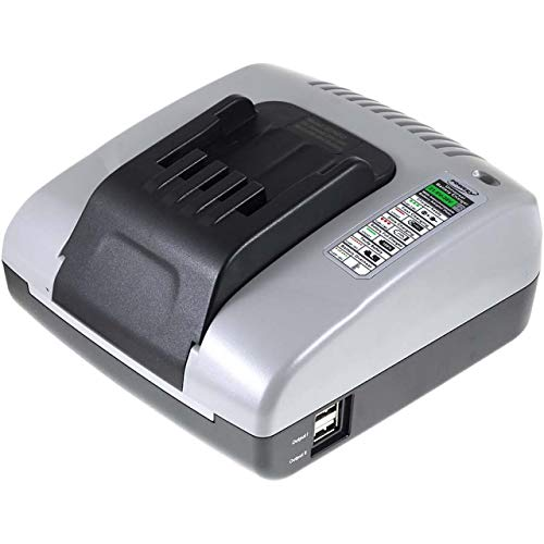 akku-net Ladegerät mit USB für Dewalt Akkutyp DE0241, 20V-36V - Dewalt Volt Usb 20