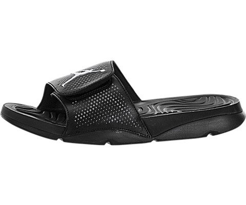 Nike Herren Jordan Hydro 5 Basketballschuhe, Schwarz/Weiß/Grau (Schwarz/Weiß-Cool Grey), 41 EU (Jordan Schuhe Schwarz Und Grau)