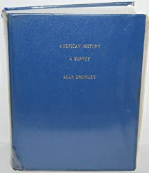 American History : A Survey/With Map Vol I & II by Alan Brinkley (1995-01-01)