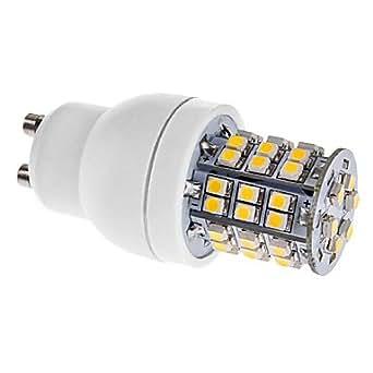 DAIWL x 3W GU10 48 SMD 3528 140–Dell 170 m Blanc Chaud 3500 K Ampoule LED de Ampoule maïs (110/220 V/220 V LIUTAOYUAN)