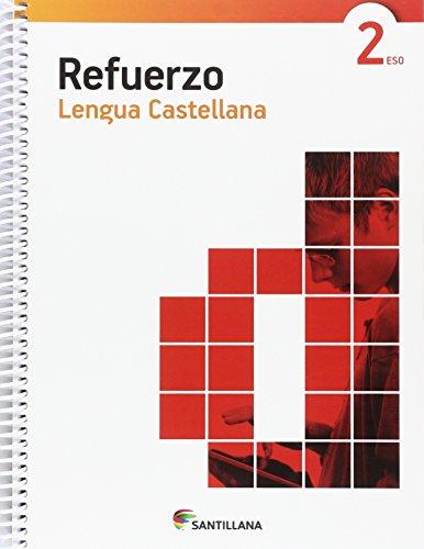 CUADERNO REFUERZO LENGUA CASTELLANA 2 ESO - 9788468086606 por Vv.Aa.