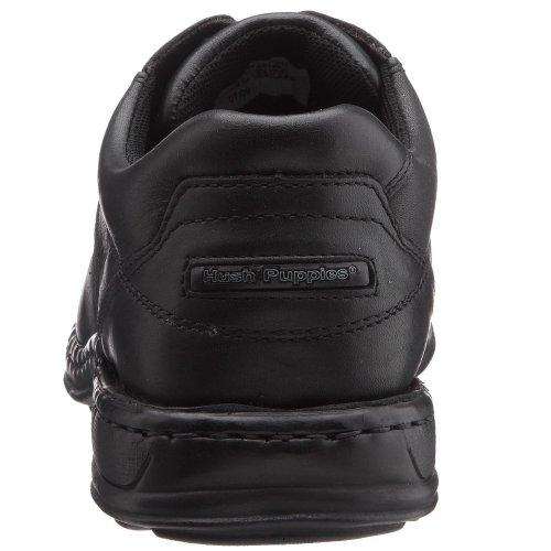 Hush Puppies Bennett, Chaussures de ville homme Noir (Black Leather)