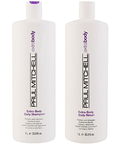Paul Mitchell Paul Mitchell Extra Body Daily Rinse 33.8 oz. Shampoo + 33.8 oz. Conditioner