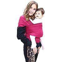 e1b2ceb6fca0 Echarpe de Portage pour Nouveau-Nés, Nourrissons et Tout-Petits Coton Doux  Premium