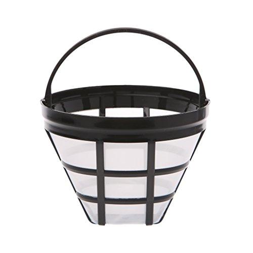Sunhoyu Kaffeefilter/Filterhalter,Ersatz-Kaffee-Filter Wiederverwendbare Nachfüllbare Basket Cup...