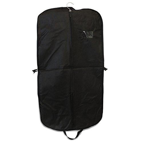 Kleidersack Kleiderhülle mit Reißverschluss schwarz verschiedene Längen und Varianten (Exklusiv 110cm) (Internationalen Reisenden Koffer)