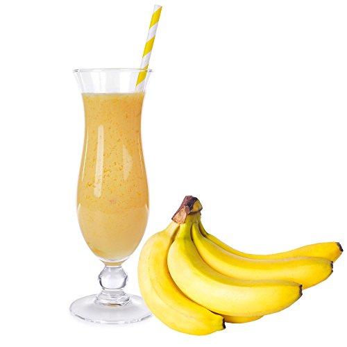 Banane Geschmack Proteinpulver Vegan mit 90% reinem Protein Eiweiß L-Carnitin angereichert für Proteinshakes Eiweißshakes Aspartamfrei (1 kg)