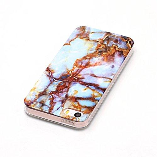 iPhone 6s / iPhone 6 case,DaYanGeGe TPU Gel Silicone Protettivo Skin Custodia Protettiva Shell Case Cover Per iPhone 6s / iPhone 6 - Marmo Design L07