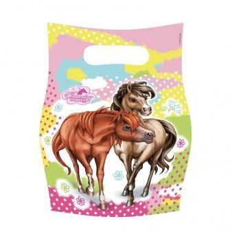 """Preisvergleich Produktbild Amscan 6Charming Horses Mitgebsel """"Party Zubehör"""