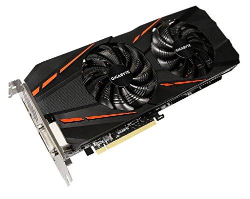 Gigabyte GeForce GTX 1060D53g GeForce GTX 10608GB GDDR5–Grafikkarten (GeForce GTX 1060, 8GB, GDDR5, 192Bit, 7680x 4320Pixel, PCI Express x163.0)