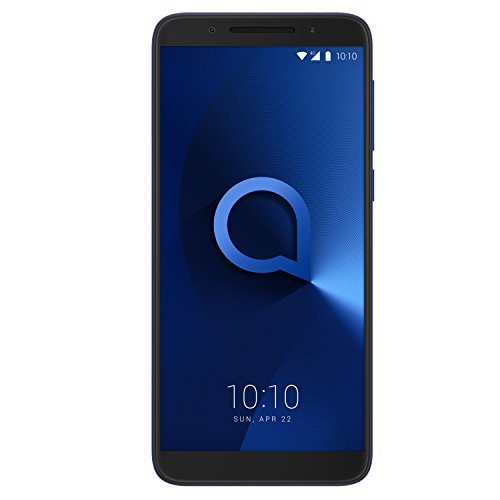 Alcatel 5052Y-2BALGB7 3 Android UK-SIM Free Smartphone - Spectrum Blue Best Price and Cheapest