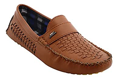 Bacca Bucci Men's Tan Loafers - 10 UK, BBMC4033D