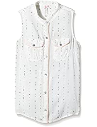 Kaporal Kilda - Chemise - Imprimé complet - Col à boutons - Sans manche - Fille