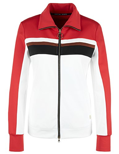 MARC CAIN SPORTS Damen Jacke GS 31.07 J17 Weiß (Off-White 110)