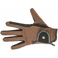 HKM Kinder Reithandschuh-Professional Nubuk Lederimitat Handschuhe