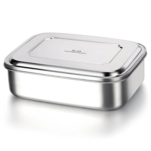 Une lunch box en acier inoxydable parfaite pour les snacks