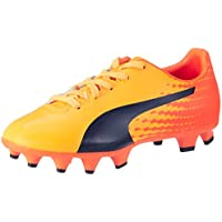 Puma Evospeed 17.4 FG Jr, Chaussures de Football Mixte Enfant