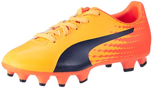 Puma Evospeed 17.4 FG Jr, Chaussures de Football Mixte Enfant