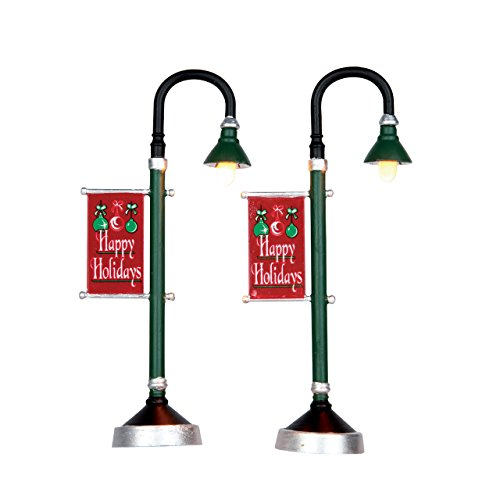 municipal-street-lamps-lemax-christmas-village-accessory-new-for-2016