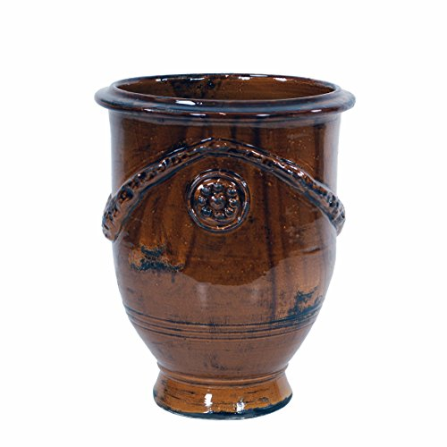 Winward Designs toskanischen Urne, 43cm hoch, Kaffee BRAUN