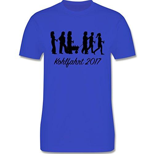 Anlässe - Kohlfahrt 2017 - Herren Premium T-Shirt Royalblau
