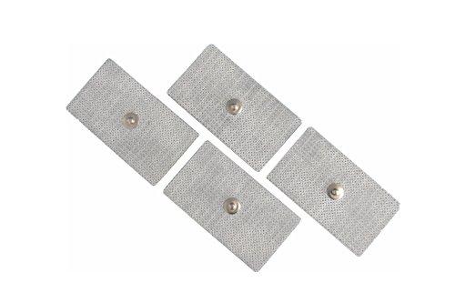 FIAB SpA PG473 Elettrodi Monouso in Tessuto Conduttivo per Elettrostimolazione, Rettangolari, 45mm...