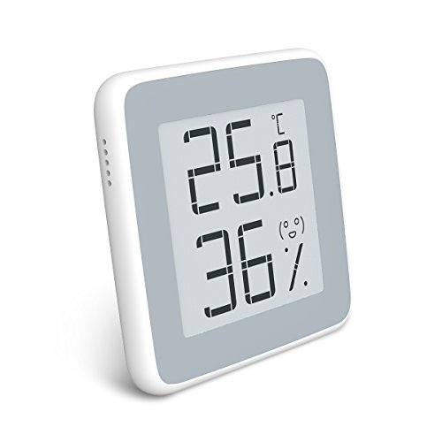Homidy Hygrometer Digital Thermometer Innen,E-Ink HD display Digital...