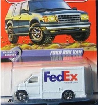 2000-matchbox-speedy-delivery-59-of-100-fedex-delivery-truck-by-matchbox
