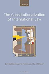 The Constitutionalization of International Law by Jan Klabbers (2009-10-01)