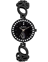 Austere EMMY Analog Black Dial Women's Watch - WE-0202 Black