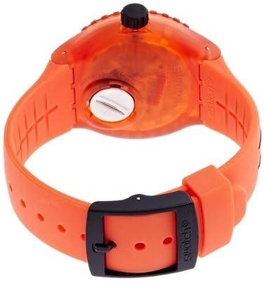 Swatch Reloj Analógico de Cuarzo para Hombre con Correa de Silicona - SUUO400 de Swatch