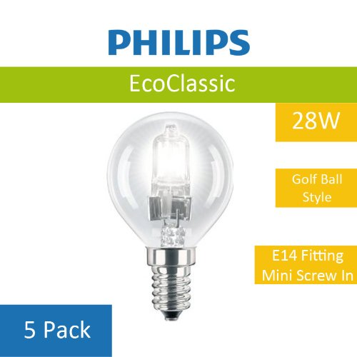 5-pack-of-28w-philips-p45-eco-classic-energy-saving-light-bulb-high-quality-halogen-light-e14-screw-