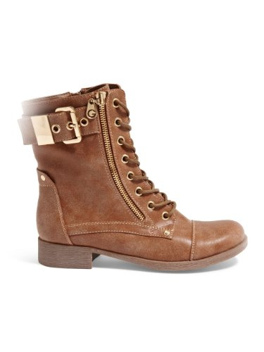 G By Guess Berlyn Synthétique Botte Dark Natural
