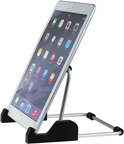 akku-net Universal Tablet Ständer für iPad/Galaxy Tab mit verstellbarem Winkel Tabs Nicd