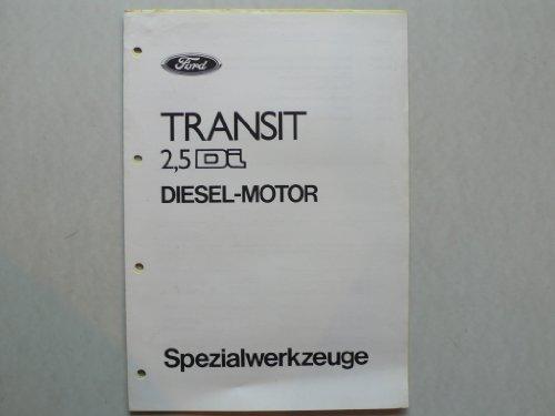 Ford Transit 2,5 Di Diesel Motor - Original Ford - Spezialwerkzeuge (Ford Spezialwerkzeuge)