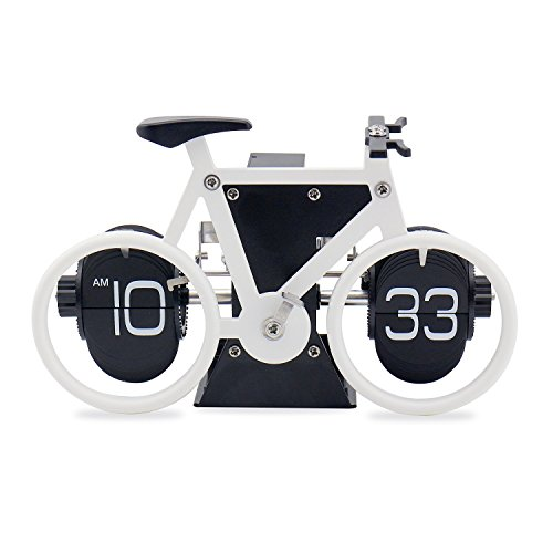 bicycle-flip-clock-jeasun-old-fashioned-flip-clock-retro-clock-bicycle-clock-flip-down-clock-travel-