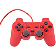 First Play Wired Joystick Controller for PS-2 (Red)