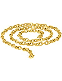 40887f1f19d73 Voylla Brass with Yellow Gold Plated Chain for Men