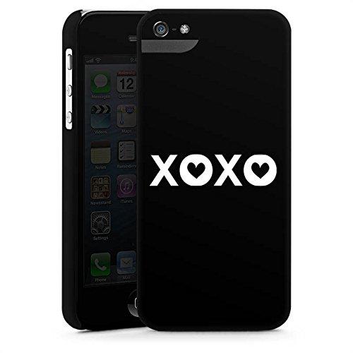 Apple iPhone X Silikon Hülle Case Schutzhülle xoxo Kuss Liebe Premium Case StandUp