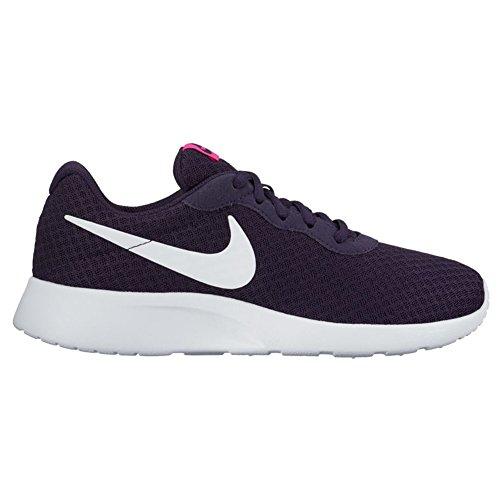 Nike Wmns Tanjun, Scarpe da Ginnastica Donna Violett (Purple Dynasty/white/fire Pink)