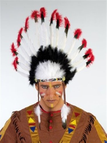 Kostüm Rubies Schmuck - Rubies 6 220660 - Indianer Kopfschmuck