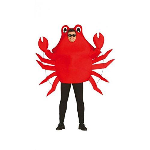 Imagen de disfraz de cangrejo adulto