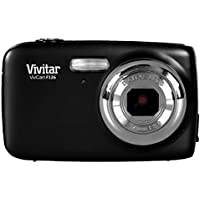Vivitar VF126 14.1 MP Digital Camera with 1.8-Inch LCD Screen and Anti-Shake/Face Detection - Black
