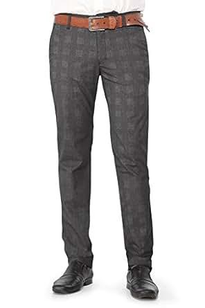 THINC MENu0026#39;S FORMAL CHECK PANTS Amazon.in Clothing U0026 Accessories