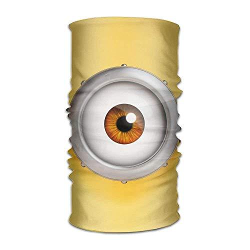 jiilwkie One Eye is On A Yellow Background Fashionable Outdoor Hundred Change Headscarf Original Multifunctional Headwear | 06254239474123