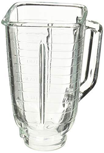 Ersatzglas für Oster & Osterizer mit quadratischer Oberseite, 5 Tassen - Oster-glas-mixer-glas