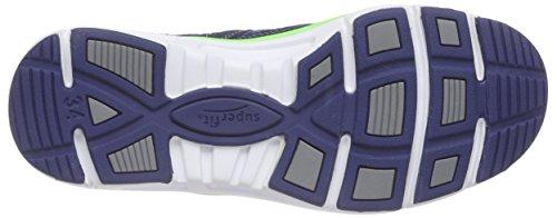 Superfit Lumis, Baskets Basses Garçon Bleu (water Kombi 88)