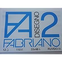 Fabriano 437421 Album da Disegno, 33 x 48 cm, Bianco