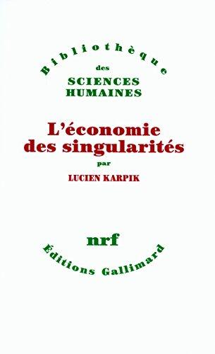 L'conomie des singularits
